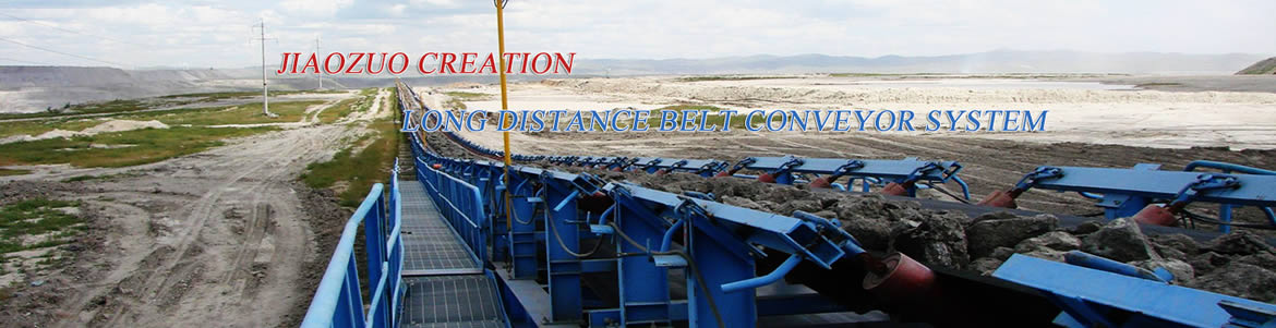 Long distance belt conveyor system
