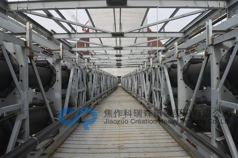 Pipe Conveyor of Jiujiang Power Station