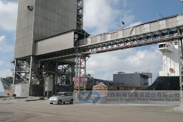 Cement Plant Pipe Conveyor System