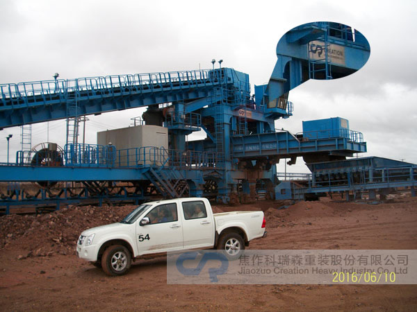 Myanmar Copper Mine Heap Leach Conveyor System